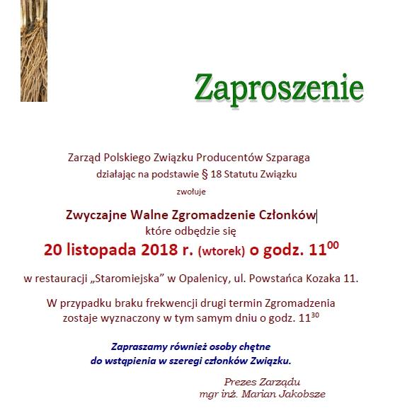 Polski Związek Producentów Szparaga